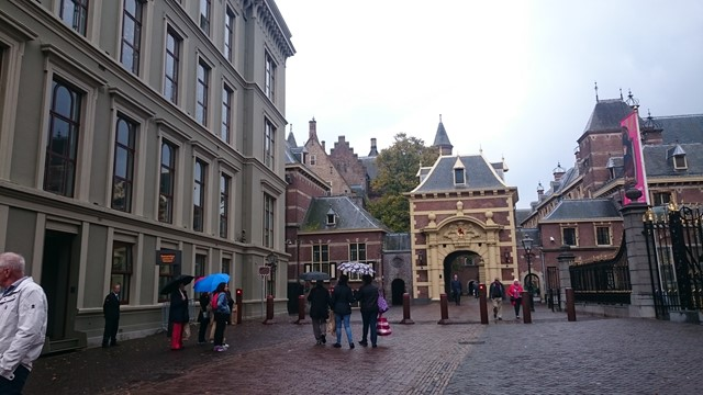 Toegangspoort naar het Binnenhof