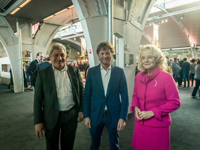 11 Hans Huijbers en Elies Lemkes in gesprek met Pieter-Christiaan van Oranje-Nassau, Van Vollenhoven.jpg